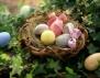 2 лесни декорации за великденски яйца