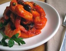 Рецепта за скариди с доматен сос