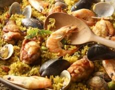 Рецепта за паеля с морски дарове