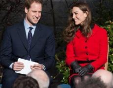 Кейт остави Уилям на сухо