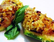 Рецепта за пълнени тиквички с риба тон и ориз