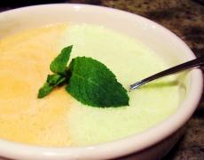 Рецепта за плодова крем супа с пъпеш