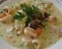 Рецепта за калмари в сметанов сос