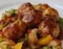 Рецепта за рибни кюфтенца в зеленчуков сос