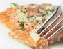 Бяла риба със салата от морски дарове