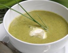 Лятна магданозена супа