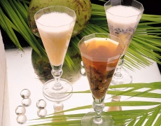 Рецепта за коктейл с кокосово мляко