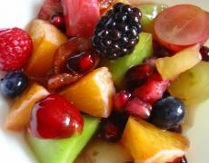 Рецепта за есенна плодова салата
