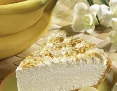 Рецепта за сладкиш от банани с крем от извара