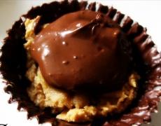 Рецепта за шоколадово-орехови сладки с карамел