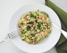 Рецепта за оризова салата с риба тон
