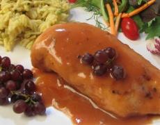 Рецепта за пилешки гърди със сос от вермут