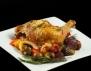Рецепта за печено пиле с кестени и сос от гъби и праз