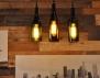 Идея за дома: лампи от бутилки