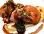Рецепта за пъдпъдъци с грозде в сос от вино