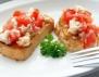 Рецепта за брускети с домати и моцарела
