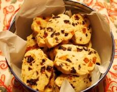 Бисквитки със сушени плодове и ядки