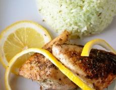 Пилешки гърди с лимон и мед