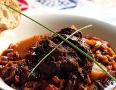 Рецепта за телешко със сини сливи. По марокански!