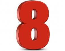 Лично число 8