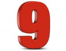 Лично число 9