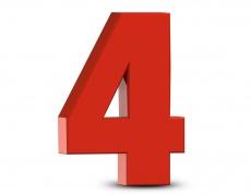 Лично число 4