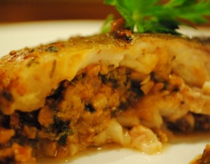 Рецепта за пълнен шаран с орехи и стафиди