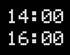 Каква е съдбата на родените между 14:00-16:00