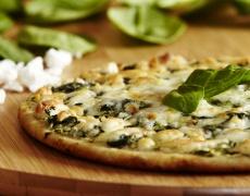 Пица със спанак