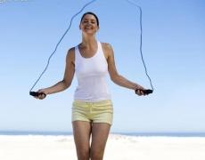 Скачането на въже намалява апетита!