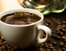С кафе се поддържа секси тяло