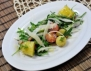 Картофена салата с прошуто и рукола