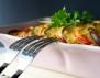 Ориенталско ястие с патладжан и тиквички
