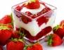 Лесен десерт с ягоди и извара