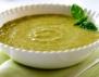 Крем супа с грах и Моцарела
