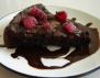 Шоколадови кексчета с малини