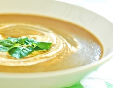 Морковена крем супа с Коантро!