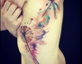 Нов тотален хит: акварелни татуировки