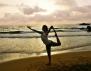 Йога на плажа! Как? (видео)