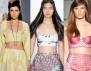 Плажна мода 2013: Късо бюстие и висока талия