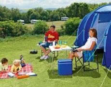 Спането на палатка е полезно
